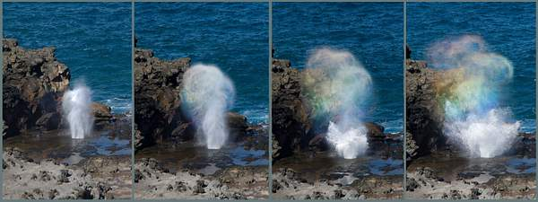Nakalele Blowhole Sequence, Maui, Hawaii