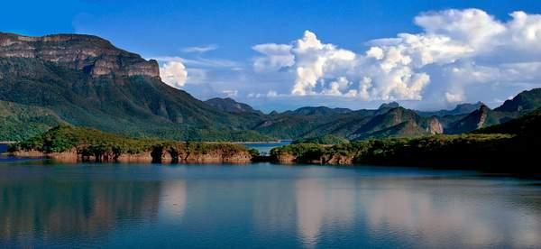 Huites Lake Panorama, Sinaloa, Mexico 222