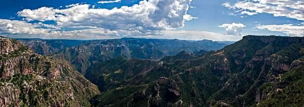 Copper Canyon Panorama, Divisadero, Mexico 222