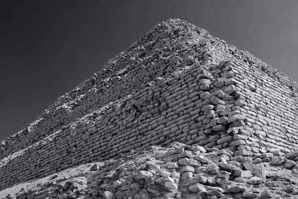 The oldest pyramid, the Step Pyramid of Saqqara, Egypt 222