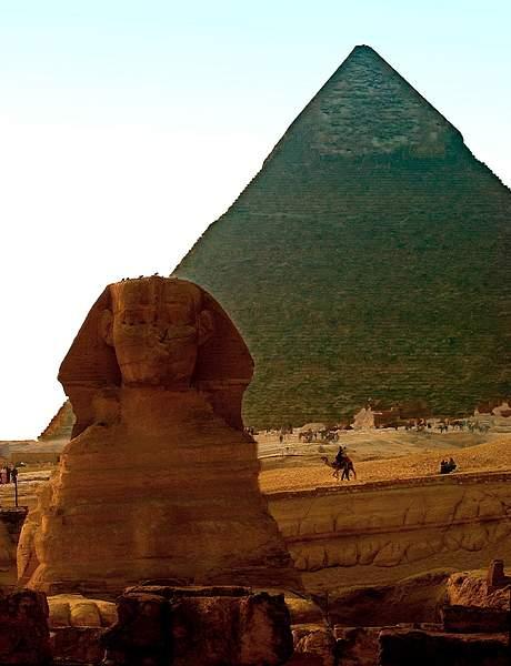 Sphinx & pyramid, Giza, Egypt 222