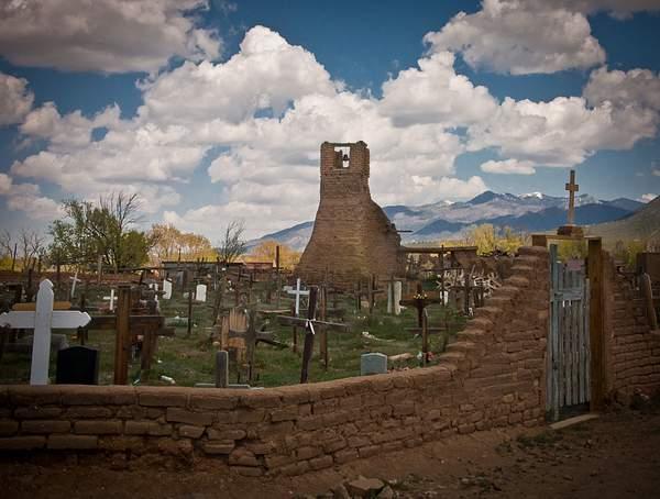 Campo Santo-Taos Pueblo NM 222