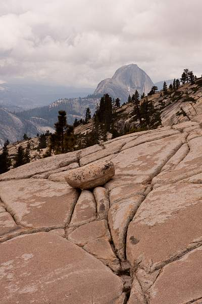 Half Dome from Olmsted Point 222