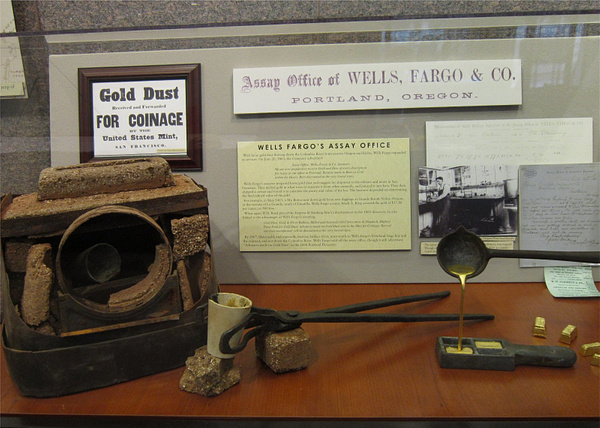 Oregon Day 8 - Wells Fargo Museum by KatyWolfe