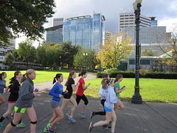 Oregon Day 8 - Walking in Portland