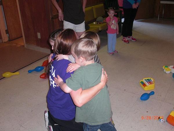 Cue Camp hug by NVCSApics