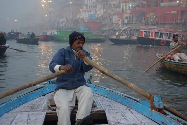 Boat Operator, Varanasi, India 222