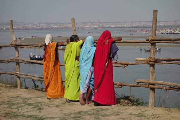 Women at Kumbh Mela Festival, India 222