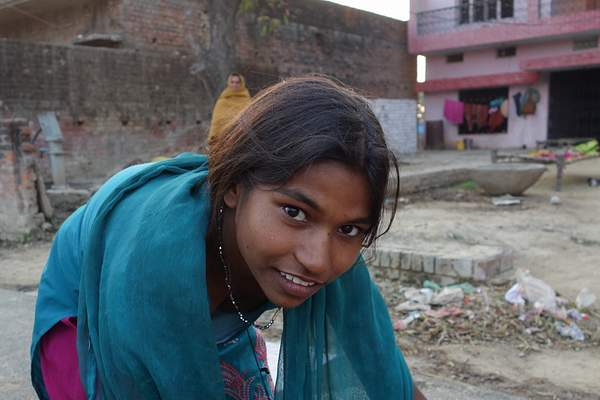 Young woman, India 222