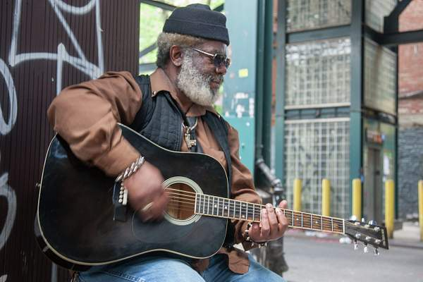 Street Musician, Williamsburg, Brooklyn 222