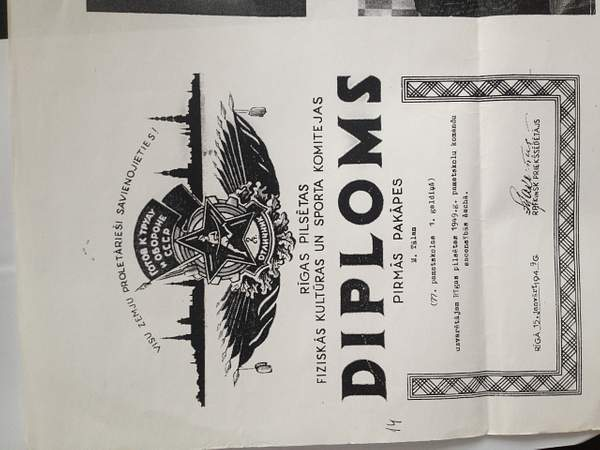 Tal 1st diploma