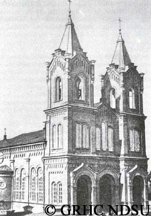 Klemens Cathedral in Saratov, Volga region 222