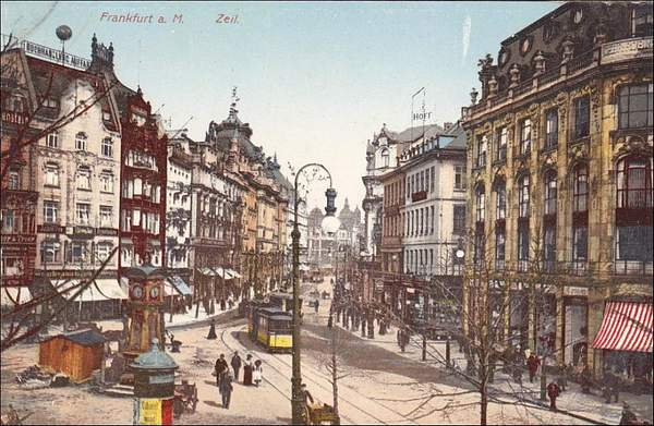 FRANKFURT a. Main, Zeil, Street Car, Hesse, Germany, 00-10s
