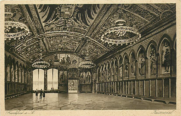 GERMANY-FRANKFURT-KAISERSAAL-BALLROOM-EARLY