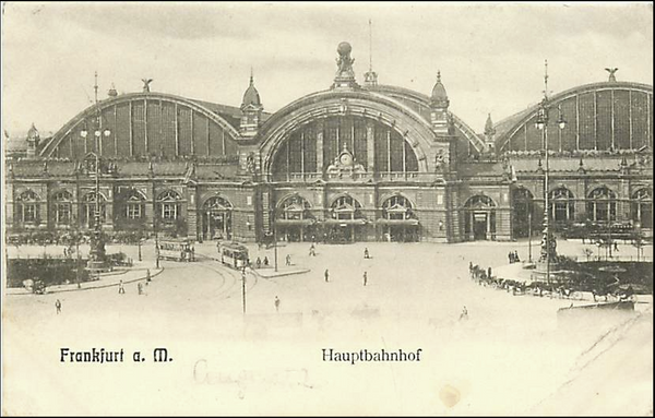 GERMANY-FRANKFURT-CENTRAL STATION-HAUPTBAHNHOF 222