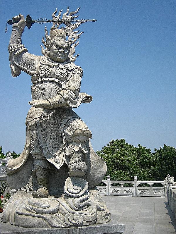 PutuoShan GuanyinStatue Forecourt 110