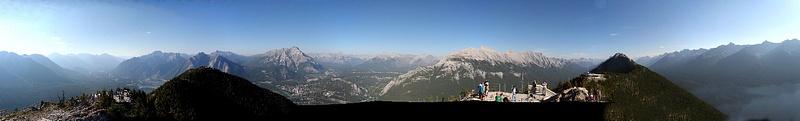 RM 478 Sulphur Mountain Panorama 2