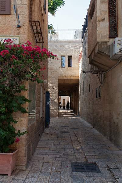 in old Jerusalem