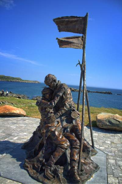 The Memorial Statue - Home from the Sea