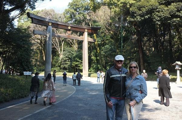 sara and clive - meiji shrine by cironera