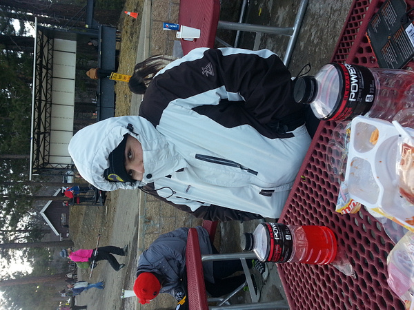 skiing during break by ValeriaVasquez279