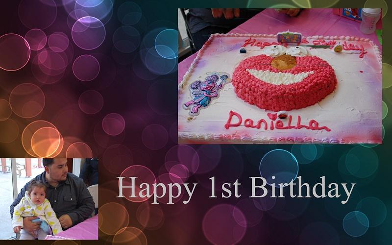 Happy 1st Birthday Niece
