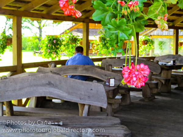 L Karecma local resturant outside eating by Carra Riley