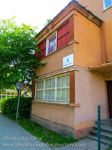 l Hostel front