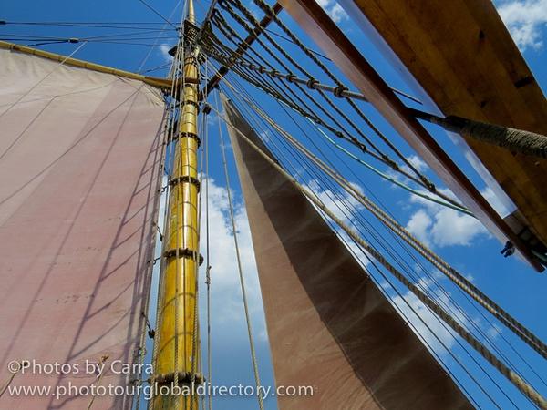 E Sails up by Carra Riley