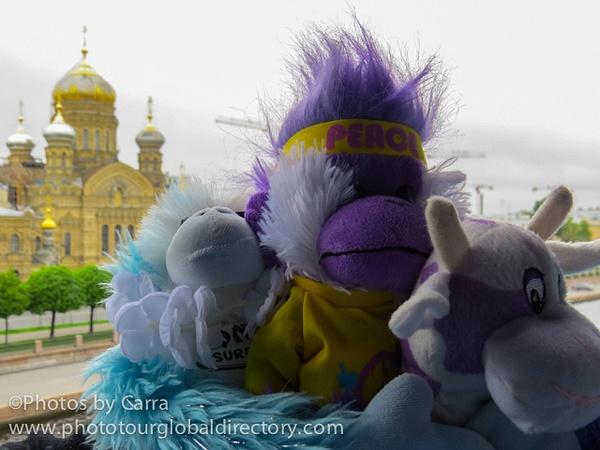 R Branding Buddies in Russia by Carra Riley