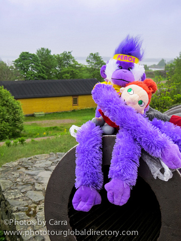 F Suomenlinna 25 canon peace monkey and PIKKU MYY by Carra Riley