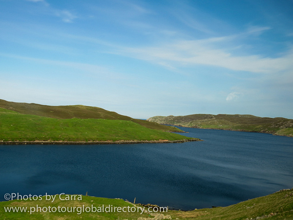 Shetland Connection Atlantic side across North Sea  2 by Carra Riley