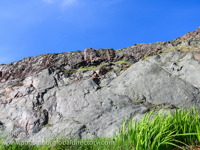 Shetland Connection North Sea cliffs