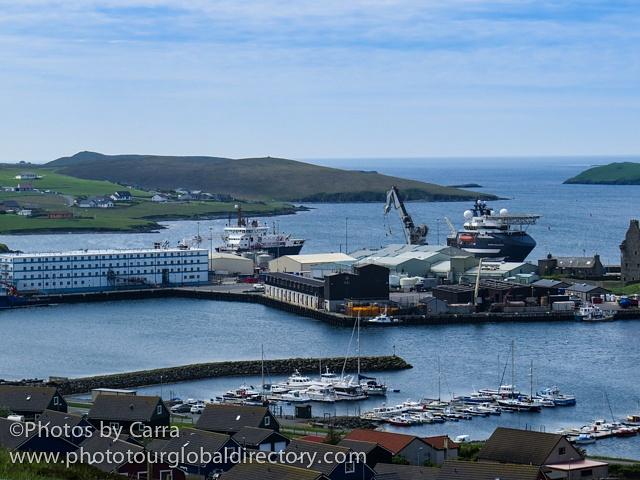 Shetland city 2 dock