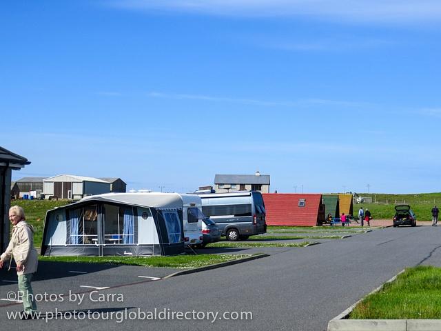 Shetland camp area