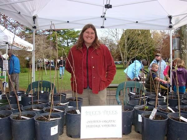 Bright Farm.... Bree ! Salt Spring Market