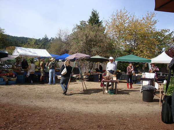 Farmer's Market Salt Spring 2009 222
