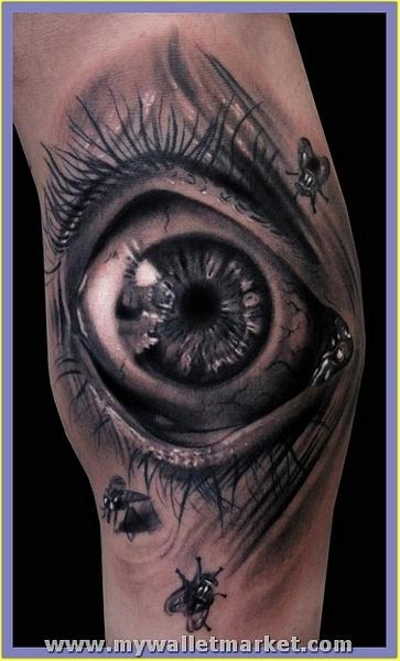 3d-tattoo-eye by catherinebrightman