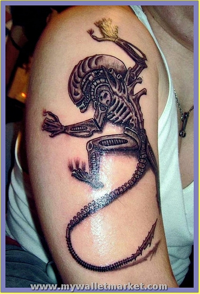 3d-alien by catherinebrightman