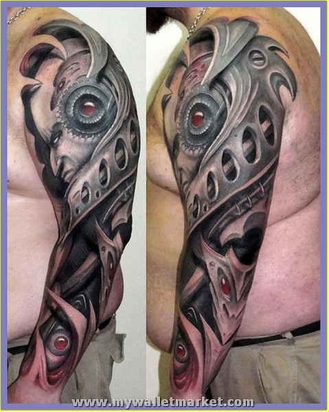3D-Men-Arms-Tattoo by catherinebrightman