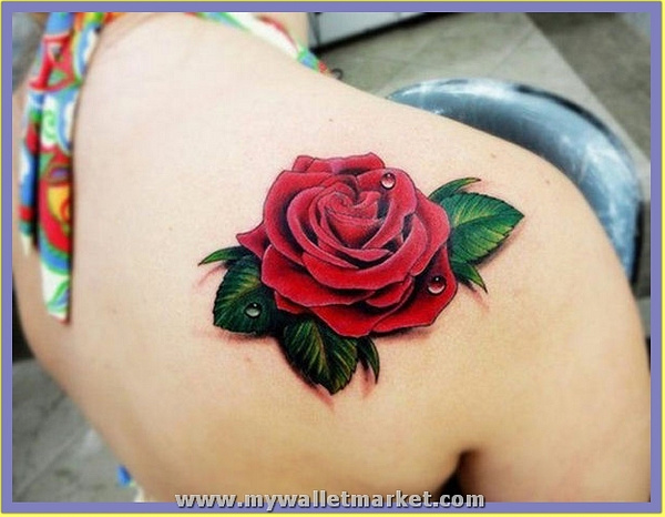 3d-rose-tattoo by catherinebrightman