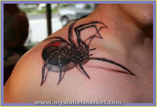 3d-spider-tattoo-5 by catherinebrightman