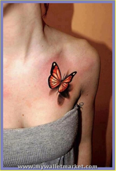 beautiful-3d-butterfly-tattoo by catherinebrightman