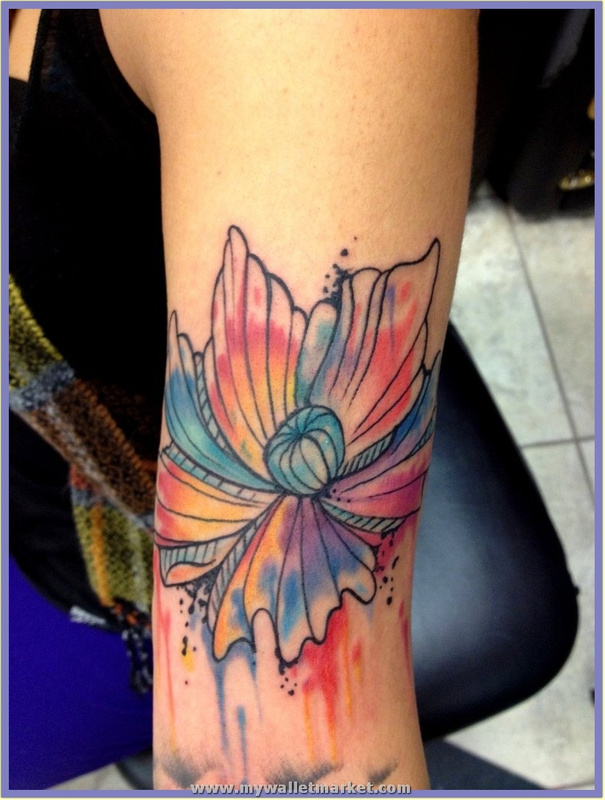 abstract_flower_tattoo