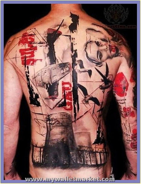 abstract-tattoo-on-back by catherinebrightman