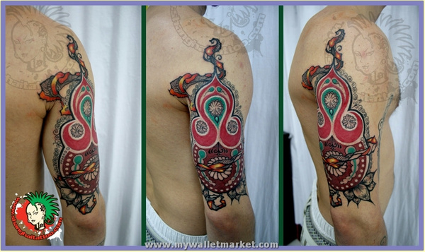 abstract-pattern-tattoo by catherinebrightman