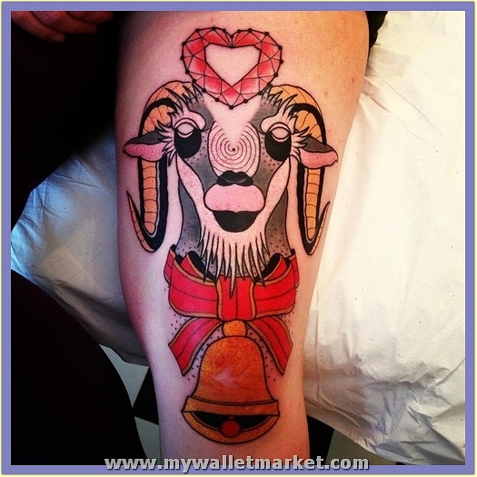 abstract-ram-tattoo by catherinebrightman