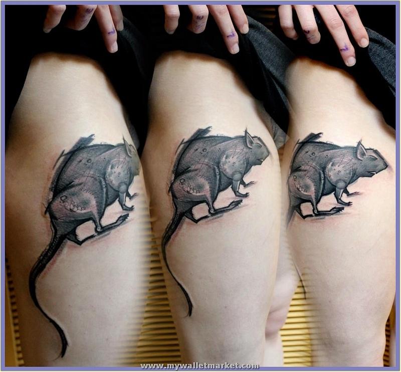 abstract-rat-tattoo
