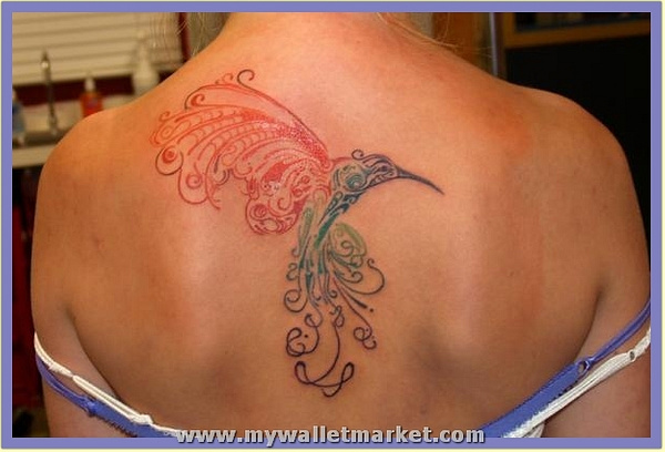 an-abstract-tattoo-design-of-a-hummingbird-in-flight by catherinebrightman