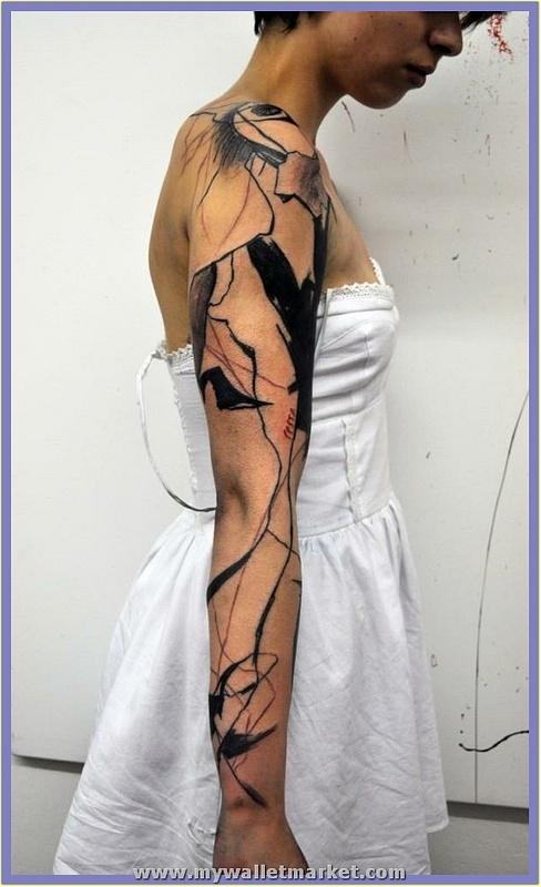tribal-abstract-tattoo